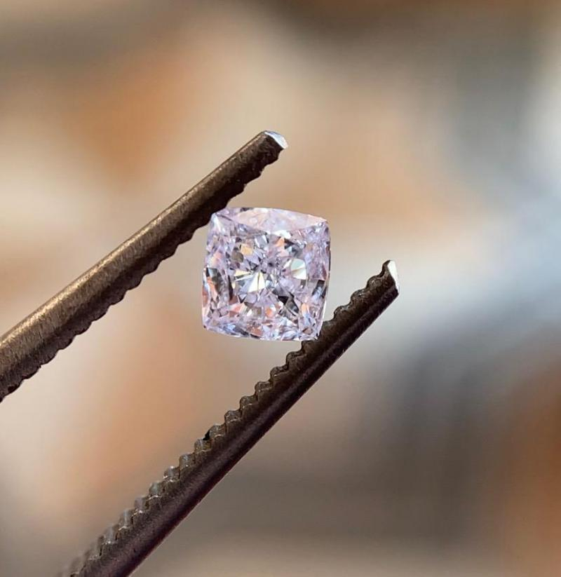 natural fancy purple pink diamond manufacturer