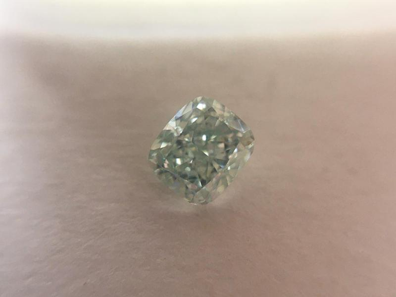 Natural Fancy Bluish Diamond