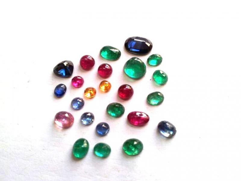 Multy Color Gemstones