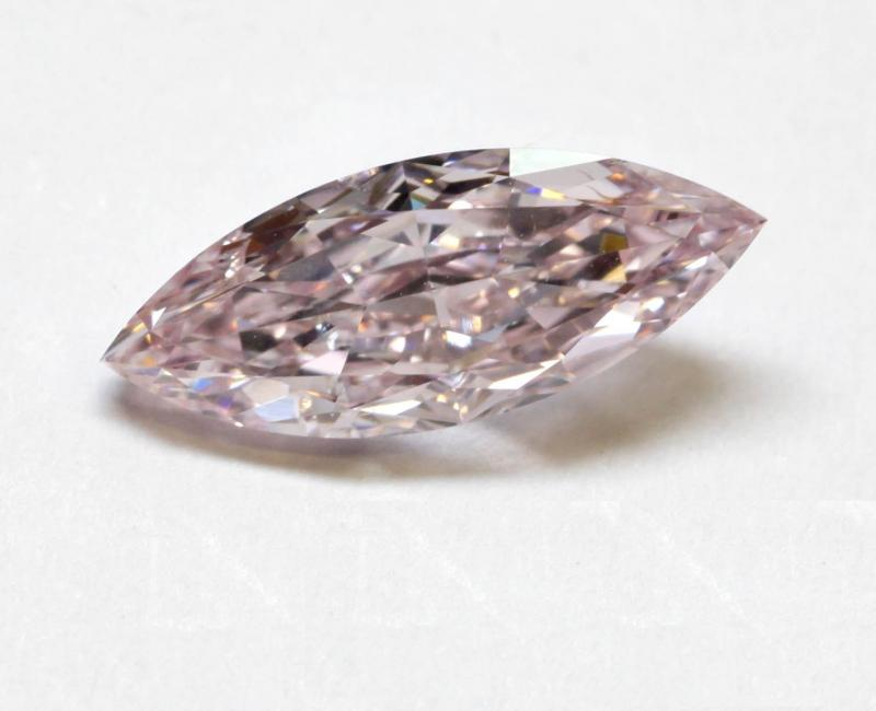 NATURAL FANCY PINK MARQUISE DIAMOND