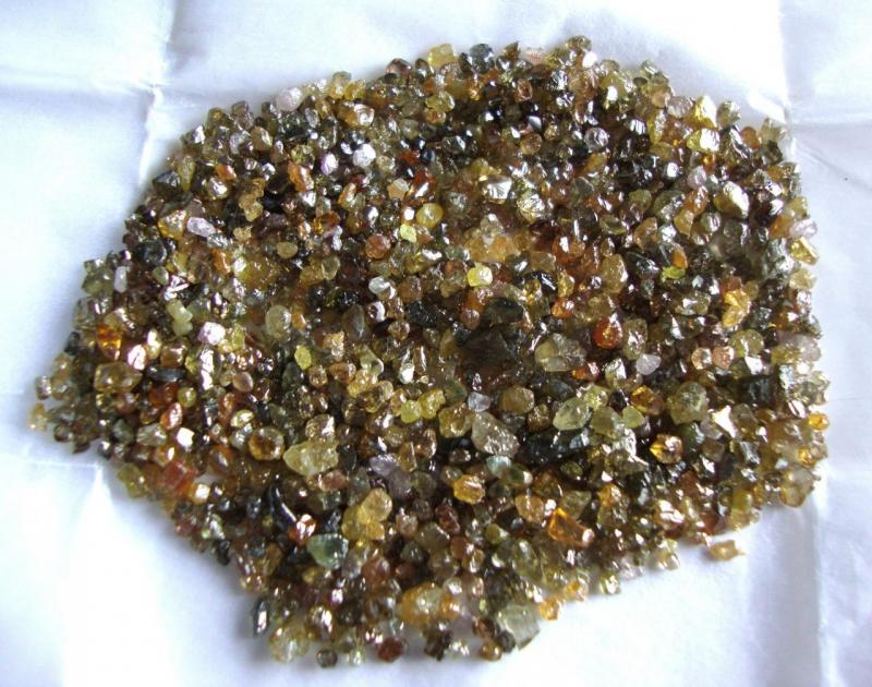 Multy Color Diamond Rough