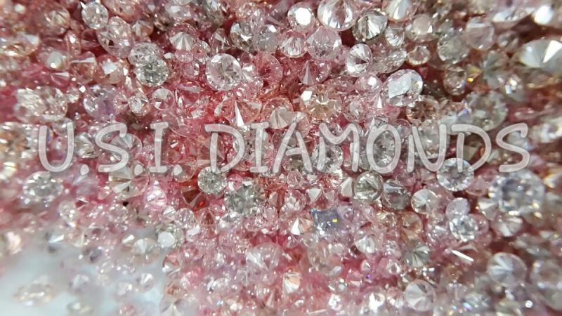 Aygyle Natural Fancy Intense Pink Diamonds