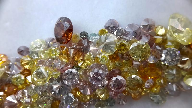 fancy color diamonds india