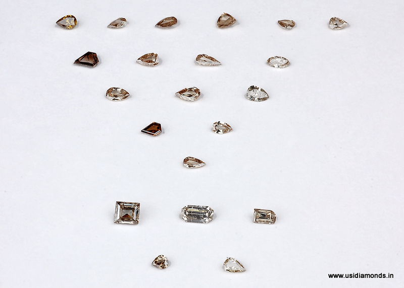 brown rose cut diamond manufacturer india surat