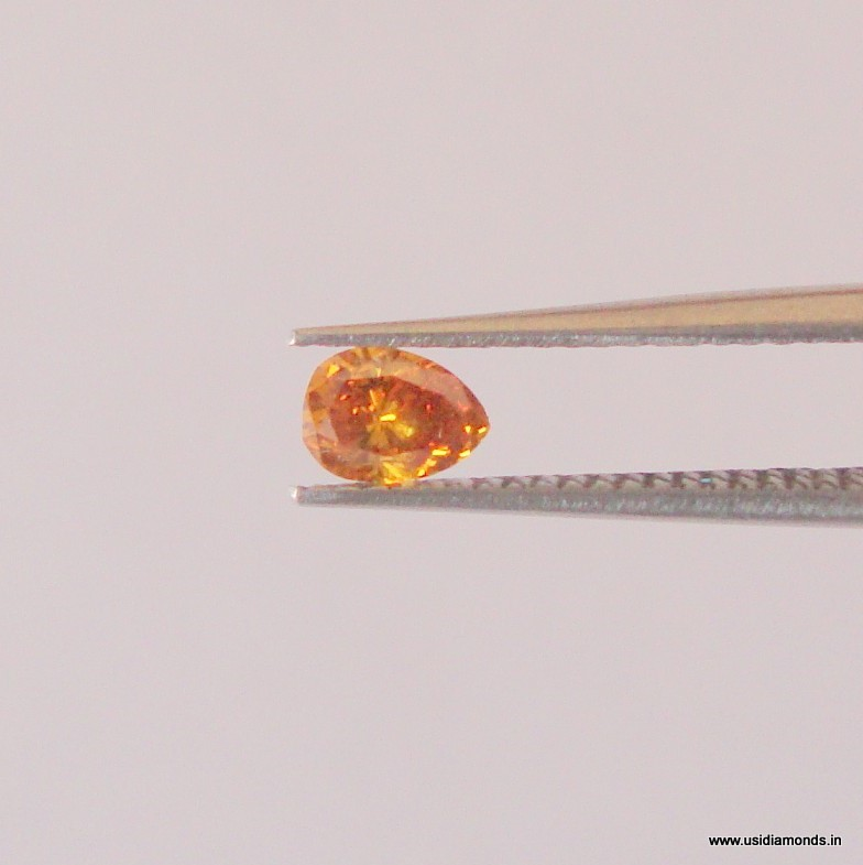 natural orange diamond manufactuer