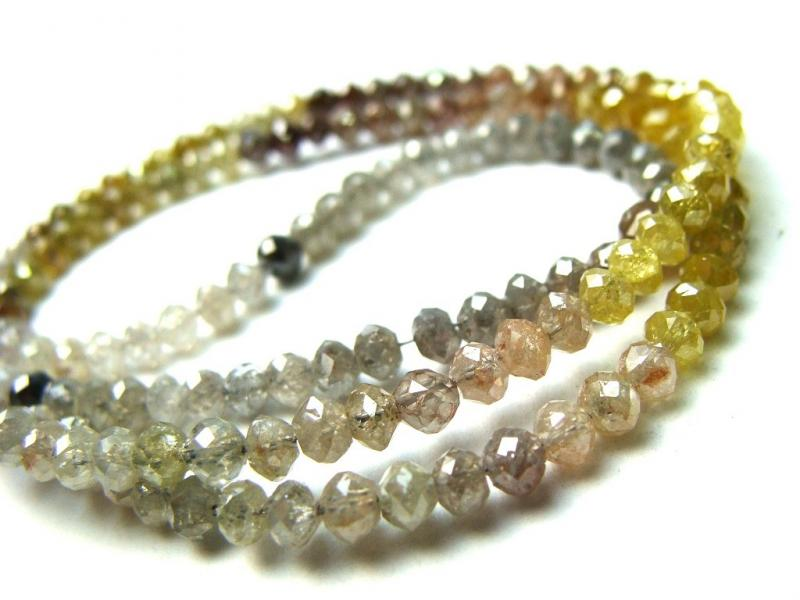 colored dimands beads