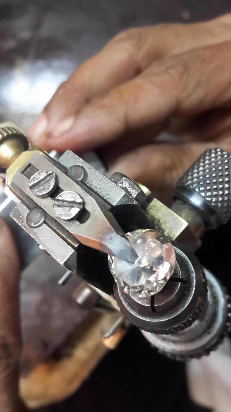 diamond cutting polishing work