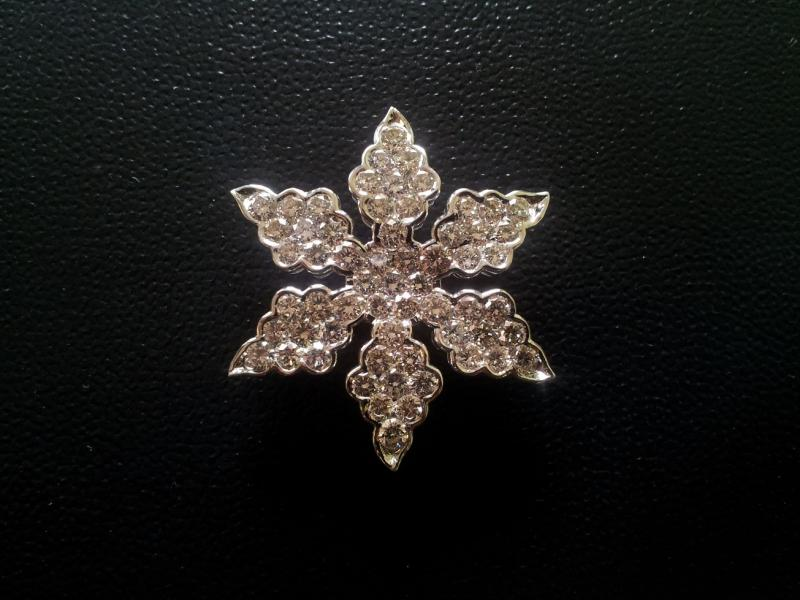 Diamond Brooch Jewelry